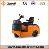 4 Tonne, die auf Typeelectric Schleppen-Traktor ISO 9001 sitzt