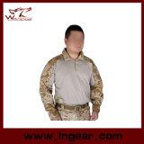 Airsoft를 위한 전술상 군 t-셔츠 긴팔 셔츠