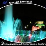 Fontana corrente dell'acqua/fontane esterne di musica