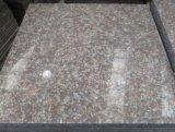 Tuile rose élégante de granit de tuiles rouges de Xili de propriétaire de carrière de la Chine