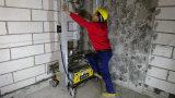 Sable humide de la colle automatique de mur plâtrant la machine de jet