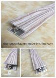 Aluminio anodizado deslizante Perfil puerta del guardarropa