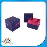 高品質の木の宝石類のペーパーギフトの荷箱