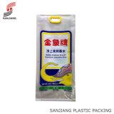 Plastikgriff-BOPP gesponnener Beutel für Reis