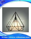 Lampada di figura del diamante del lampadario a bracci del ferro saldato per il salone (VC-07)
