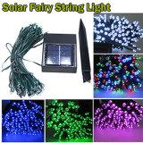 Lumière à énergie solaire de chaîne de caractères de Noël pour la décoration de vacances