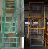 De verticale Lift van de Vracht van de Ketting van het Spoor van de Gids/Opheffende Lift voor Met meerdere balies