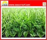 Hierba artificial al por mayor de cuatro colores para ajardinar, deporte