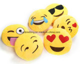 Do coxim redondo Smiley do Emoticon de Emoji descanso macio