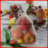 Plastic Vlakke Zak op Broodje voor het Fruit van de Supermarkt