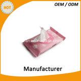 女らしいQuickpackは除去剤のワイプを構成する