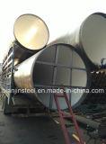 Труба использования пристани моста сваренная спиралью стальная