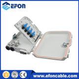 8 caixa da terminação da caixa terminal da fibra dos portos FTTH/Caja Fibra Optica 8 Puerto
