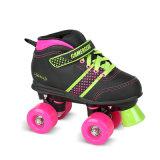 子供(QS-35-1)のための柔らかいブートのクォードのローラースケート