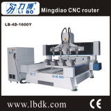 Lb 4の軸線木製CNCの彫版機械