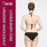 Mädchen-Bikini-Badebekleidungs-Häkelarbeit-Strand-Klage (L32579-2)