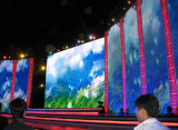 Внесметный экран дисплея визуально влияния крытый P2.5 арендный СИД