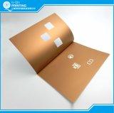 Impressão da folha da impressão do livro do catálogo