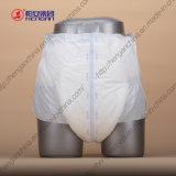 Couche-culotte adulte jetable d'absorptivité superbe de qualité