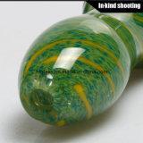 Барботер табака кальяна трубы трубы ложки толщиной куря стеклянной дунутый рукой стремительный оптовый