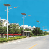 100W LEDのセリウムのRoHS UL (太陽JINSHANG)が付いている太陽屋外の街灯