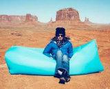 Saco de sono inflável impermeável do lugar frequentado de Lazybag do enchimento rápido
