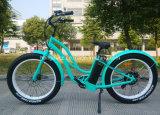 Fetter Gummireifen-elektrisches Fahrrad des Schnee-Strand-Mitfahrer-26inch 36V 250W für Damen