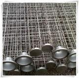 Acero (SS) del bolso de filtro de la jaula de acero