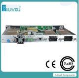 Cnr>52dB, Sbs: 13, 16, 18dBm justierbare 1X9dBm CATV 1550nm externe Modulations-optischer Sender