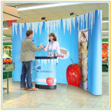 Display pop-up magnético, sistema pop-up, suporte banner