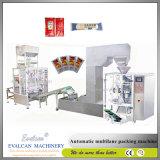 Máquina de embalagem automática do molho das Multi-Pistas