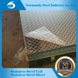 AISI 201 grabó la placa de acero inoxidable para la construcción