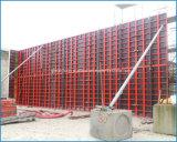 Cassaforma circolare del blocco per grafici d'acciaio della colonna per costruzione