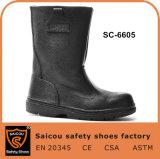 Saicouの人の革作業ブートおよび冬の鋼鉄つま先のブートの安全ブートの製造業者Sc6605