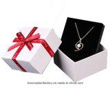 Pappschmucksache-Geschenk-Kasten/kundenspezifischer Papphalsketten-Geschenk-Schmucksache-Kasten