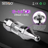 La migliore memoria in linea Seego di Vape G-Ha colpito la cartuccia del vaporizzatore di K2 Pax con invisibile si raddoppia bobina