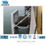 Type superbe aile de bateau et de cellules de dock en caoutchouc
