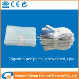 承認される純粋で柔らかく使い捨て可能な医学の外科ラップのスポンジのセリウム及びISO