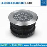 Lámpara de suelo subterráneo de alta potencia de la iluminación LED de 54W RGB