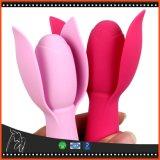 Speelgoed van het Geslacht van de Vibrators Dildo van de Stok van het Toverstokje AV van de Massage van de Stimulator van de Clitoris van de Vibrator van de bloem het Stille Volwassen voor Vrouwen