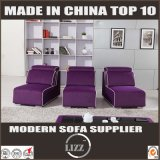 Sofa en bois de tissu de loisirs de meubles pour la salle de séjour