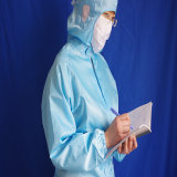 Antistatic/ESD/Conductive Arbeitskleidungcleanroom-Kleidung