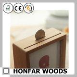 Cornice resa personale di legno solido per la decorazione da tavolino