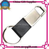 Chaîne principale en cuir de mode pour le cadeau en cuir de promotion de porte-clés