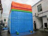 Corrediça de água inflável gigante com associação grande