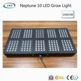 O diodo emissor de luz de capacidade elevada de Netuno 10 cresce claro para o crescimento hidropónico do sistema