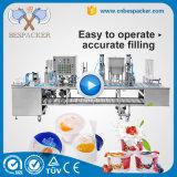 Macchina automatica di sigillamento della tazza della macchina per l'imballaggio delle merci