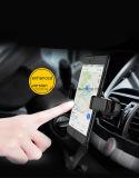 Sostenedor CD fácil ajustable del montaje de la horquilla del coche de ranura del tacto del teléfono celular un con el botón de desbloquear rápido