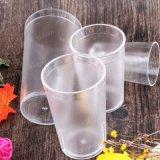 얼린 커피 및 과일 주스를 위한 애완 동물 플라스틱 컵