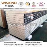 El panel de emparedado de PIR del material para techos